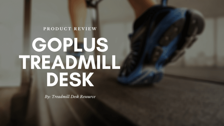 goplus treadmill desk featured